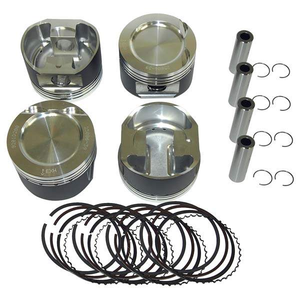 Forged Turbo/Supercharged 16v 1.8L Piston Set 82mm 8-1