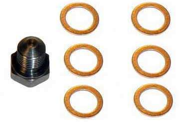 OEM Oil Drain Plug w/6 Copper Washers
