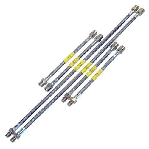 DOT Kevlar Stainless Steel Brake Lines Mk3 w/rear disc
