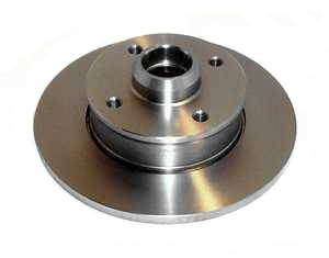 "Rear Brake Rotor, (8.9"" all models with 4 lug rear discs)"