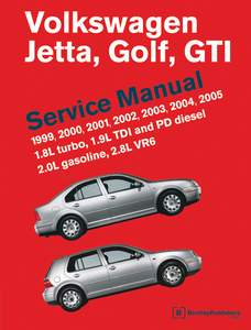 Bentley Manual (1999-2005 Golf 4 and Jetta 4)